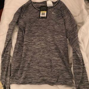 Nike long sleeve dry fit running top!